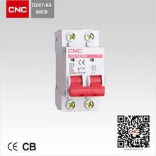 MINIATURE CIRCUIT BREAKER MCB DZ47-63 4p mcb daftar harga type