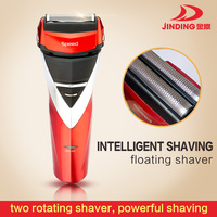 High Quality Low Price Electric Washable Design Man Shaver Red/Black JD-8001