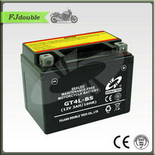 12V 3Ah motorcycle battery GT4L-BS