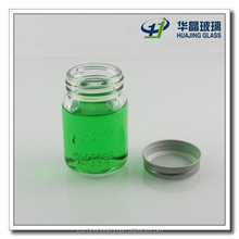 Top sale 120ml 4oz jam and canned food glass jars with metal lids