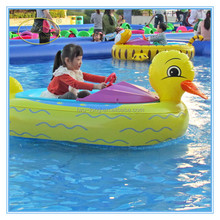 Amusement water rides kidid electric bumper boat ,electric marine engines for sale
