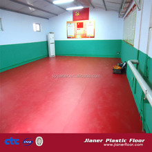 anti-static tennis pvc vinyl flooring/recycled pvc flooring