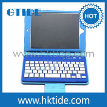 7 inch Tablet PC Protective Leather Wireless Bluetooth Keyboard Case For Mini notebook