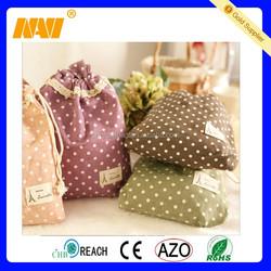 Fashion Cotton Drawstring Bag Promotional packaging bags Storage Bag