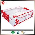 2015 fruits emballage boîtes en carton ondulé, ondulé boîte d'emballage pour les raisins