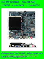 Made in china MINI ITX Embedded Computer board