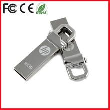 Metal mini tiny usb flash drive for HP USB