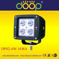 2015 atv IP67 led light off road, 12/24V auto laser fog light, 16w led work light
