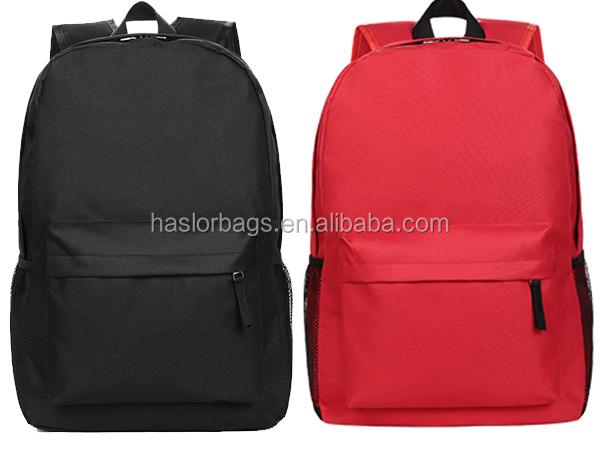 Wholesale Fashion Custom Ployester European School Backpack Chain