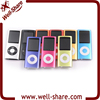 with screen Digital music clip mini mp3 player with FM radio