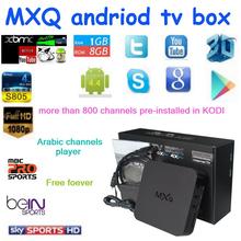 2015 Original New MXQ Android TV BOX Amlogic S805 Quad Core IPTV Android 4.4 Kitkat with KODI better than MX, M8, CS918, Minix