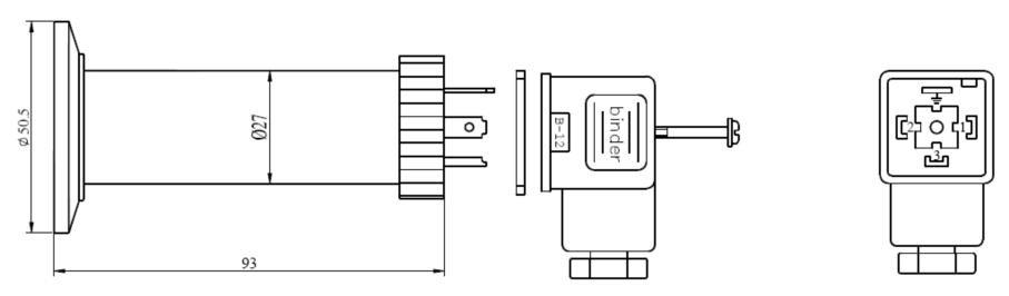 Clamp pressure transmitter