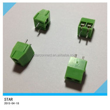 3.5mm Pitch 2 pin 2 way Straight Pin PCB Screw Terminal Block Connector