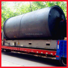 Hot sales in India with yellow pyrolysis oil by using catalyst waste tyre recycling line