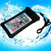yellow plastic pvc mobile phone waterproof bag for iphone 6 plus
