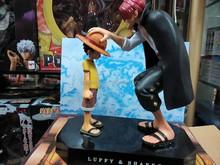 Japanese Anime Figure OEM One Piece Figure Luffy Shanks Action Figure