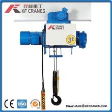 Hot KF01-2109JS Stype single girder trolley electric hoist/lifting equipment