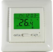 Green backlight digital room thermostat for floor heating