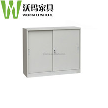 KD office furniture NEW small sliding door cabinet/Metal filing cabinet
