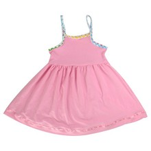 2014 wholesale 5pcs MOQ first birthday dress for baby girl