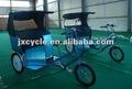 tres ruedas de bicicleta