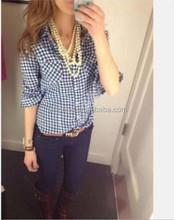 Ladies new fashion shirt top women tunic fashion