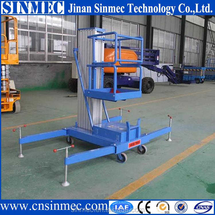 Hydraulic Vertical Lift : Sinmec hot selling hydraulic vertical platform lifts for