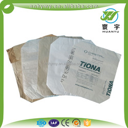 China Kraft paper bag with 3 layer for pack cement, flour,powder