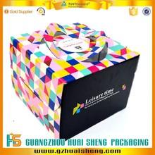Guangzhou factory waterproof professional custom frozen food shipping boxes