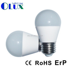 For Russia 7w 650LM G45 E27 LED bulb, B45 E14 LED Bulb, CC driver Led G45