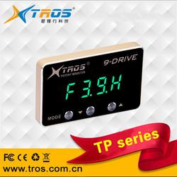 TROS 9-Drive Electronic Throttle Controller car pedal booster throttle convert kit electronic throttle control car for Ben-z