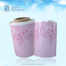 High Quality LLDPE Stretch Wrap Plastic Film Jumbo Roll for pallet wrap packing /hdpe plastic film roll factory