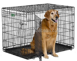 Life Stages Folding Metal Dog Crate