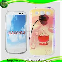 Blue light IMD Chinese Style Digital Photo prestigio mobile phone case for Samsung S3 I9300