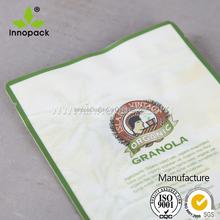 2015 top quality aluminium resealable pouch,aluminium foil zipper bag