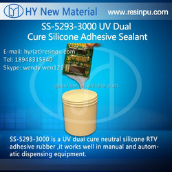 SS-5293-3000 UV Dual Cure Silicone Adhesive Sealant