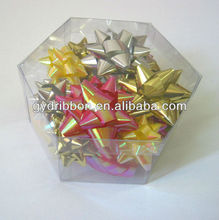 Rainbow Home Decoration Ribbons and Star Bows for Family Party or Everyday decoration
