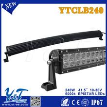 Upper Aliu firm Mounting Brackets, 240W LED Light Bar