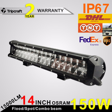 2015 Newest Wholesale 4D Led Bar Light 30W 120W 150W Mark Andy Offroad Led 4D Lamp Bar