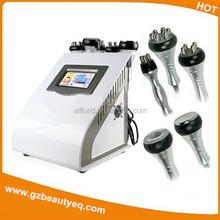 Portable oriented cavitation rf slimming machine