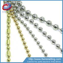 Anping Factory sale bead decorative metal screen / decorative door curtain / metal bead curtain