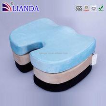 coccyx seat silicone seat cushion, coccyx sherpa wedge, coccyx shape foam seat cushion