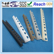 Open type plastic tile trim/ pvc tile trim for wall
