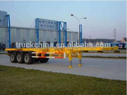 China manufacture high quality tractor trailer chassis