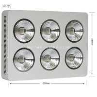 Promotion newest Hopthink high power integrated led grow light 9x75W 300w high power 600w led growing lights