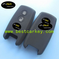 High quality 2 buttons silicone car key cover for suzuki key cover suzuki silicon cover