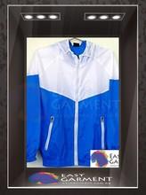 OEM Design Hot sales outdoor waterproof zip Logo printing couple running jacket