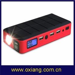 Ali trade Assurance Wholesale 12v 12000mAh car jump starter power bank OX-V1