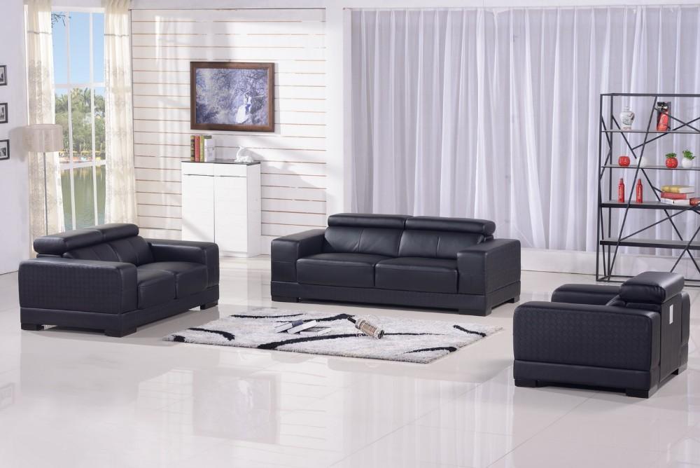 Living modernos muebles sofá de cuero genuino 2017 sofás para la ...