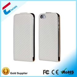 Printable Plain Leather Case For iPhone 5 5S, OEM case for iphone